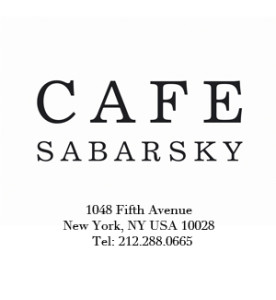 Cafe Sabarsky Logo w address
