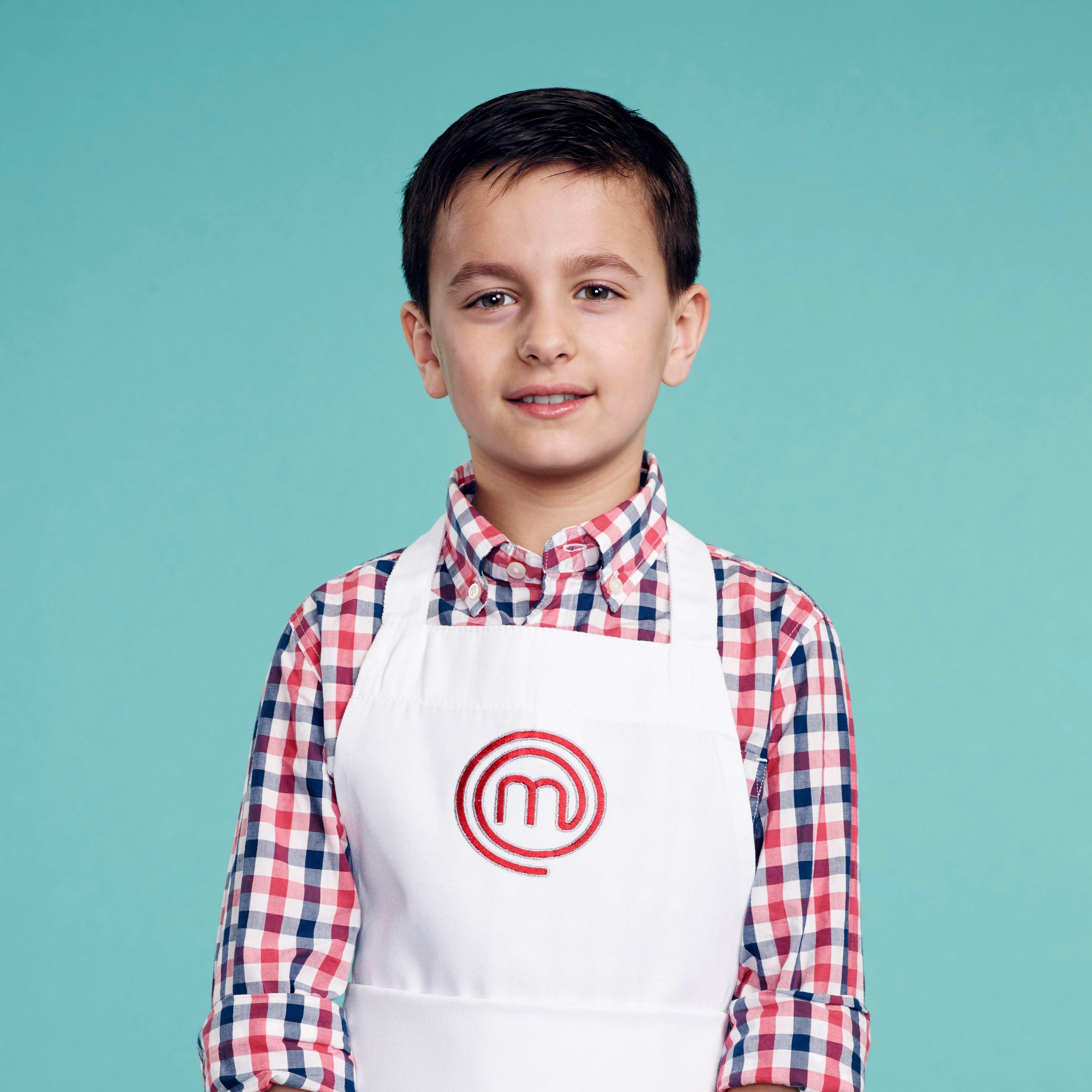 Donovan Milstein, contestant on MasterChef Junior Season: Chinese Smashed Cucumber