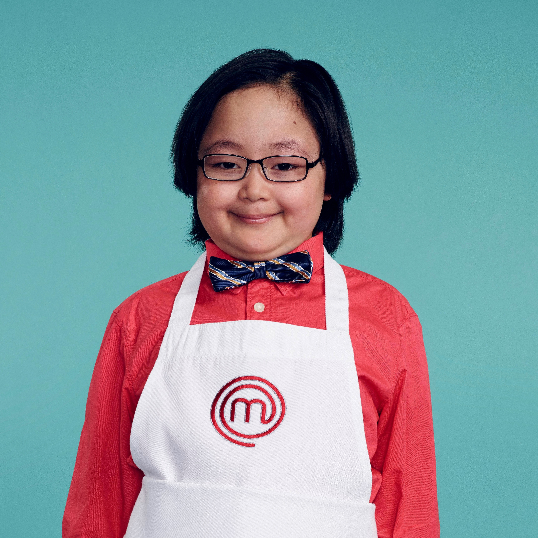 Eddie Levine, contestant on MasterChef Junior Season: Summer Shrimp Salad